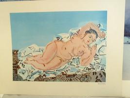 12x16 Raoul Dufy Print  Nude - $29.39