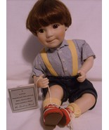 Porcelain Doll Learning To Tie My Shoes Danbury... - $19.95