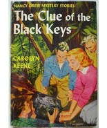 Nancy Drew #28 THE CLUE OF THE BLACK KEYS hcdj ... - $100.00