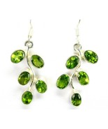Branch of Table-Top Faceted Green Oval Peridot ... - $68.87