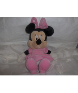 Baby Safe Disney Minnie Mouse Plush Doll Rattle... - $15.99