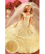 X876 Crochet PATTERN ONLY Fashion Doll Barbie W... - $9.45