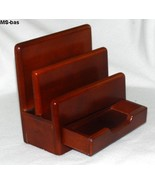 Eldon Wooden Mail Sorter Holder with Drawer #2333 - $9.99