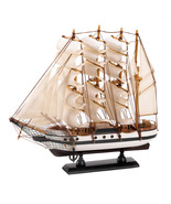 PASSAT SHIP MODEL billowing sails and gleaming ... - $15.99