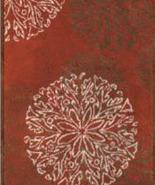 Habidecor  Red Steppe Rug  - $125.00