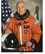 4 x 6 Autograped Photo of John Glenn RP - $4.00