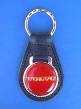VOLVO AUTO KEYCHAIN KEY CHAIN RING FOB #50 - $3.75