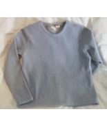 L L BEAN fleece pullover top shirt medium stret... - $6.99
