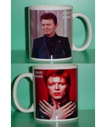 David Bowie 2 Photo Designer Collectible Mug 02 - $14.95