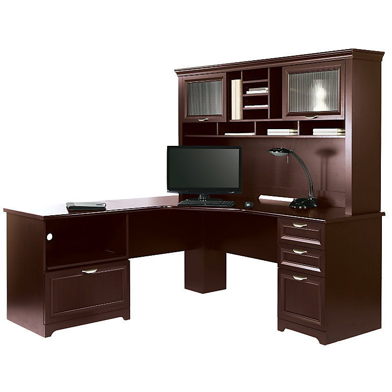 Realspace Magellan Performance Collection L Desk w/Hutch ...