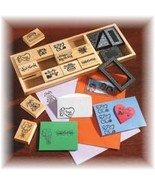 18 Pc RUBBER STAMP SET~ALL OCCASSION~BRAND NEW ... - $13.95
