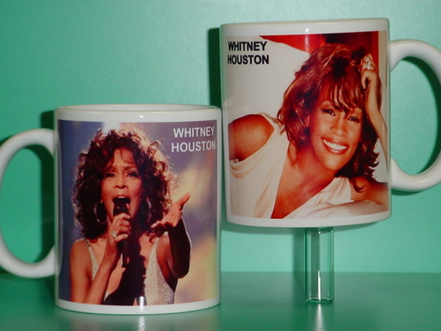 Whitney Houston 2 Photo Designer Collectible Mug