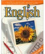 Houghton Mifflin English Textbook Texas Edition... - $19.99
