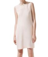 $89.9 NWT ZARA Dress with Studded Collar in Nud... - $89.00