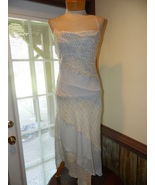 Express size 6 Silk Slip - On Dress Spaghetti s... - $19.99