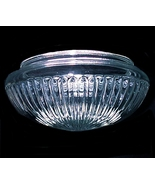 Clear Glass Ceiling Light Shade 7 3/4 X 4 1/4 X... - $16.95