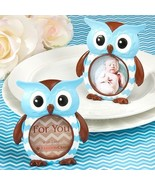 Blue Owl Design Picture Photo Frame Favor Baby ... - $2.58