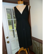 Lauren Ralph Lauren size Medium Black Rayon/Pol... - $24.99