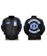 Phi Beta Sigma Leather Fraternity Jacket Black ... - $94.75