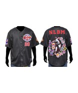 Black Negro League Baseball Jersey NLBM Commemo... - $72.19