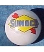 Sunoco Oil Gasoline Gas Station Logo Glass Marb... - $7.50