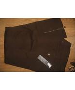 Urban Behavior Jeans Dark Brown Large Capri Lad... - $9.99