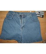 Ladies Gitano Soft Blue JEAN SHORTS Size 10 Cot... - $9.99