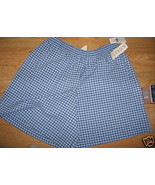 Ladies Koret Walking Dress Shorts Blueberry blu... - $14.99