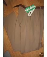 LADIES Basics DRESS PANT Taupe Beige Size 10 Su... - $19.99