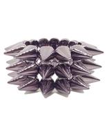 FREEBIE - Gunmetal Acrylic Stretch Bracelet wit... - $0.00