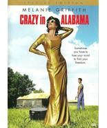 Crazy In Alabama DVD Melanie Griffith David Morse - $8.98