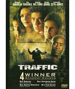 Traffic DVD Catherine Zeta-Jones Michael Douglas - $8.98