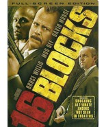 16 Blocks DVD Bruce Willis David Morse - $8.98