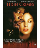 High Crimes DVD Ashley Judd Morgan Freeman - $8.98