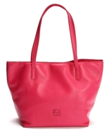 Loewe Ala Tote Napa Leather Bag Red - $1,366.20