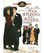 Four Weddings And A Funeral DVD Andie MacDowell... - $8.98