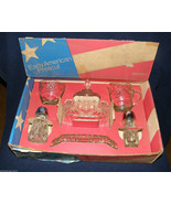 Anchor Hocking Early American Prescut 7 PC Crys... - $25.00