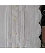 Ralph Lauren Jacquard Pillow Sham 100% White Co... - $44.54