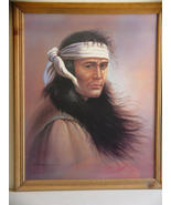 Native American Indian print from an original p... - $22.98