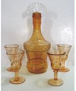 New Martinsville Lady Astor decanter set (decan... - $60.00
