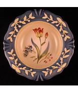 Flora Tulip Decorative Plate Porcelain 8 7/8