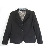 NWT Dark brown blazer Wool blend 8P Jones NY $1... - $49.99