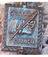 1962 Student Council Pendant Pin - $8.91