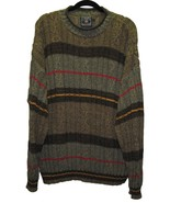 RALPH LAUREN Mens Sweater Size Large Striped Cr... - $18.00