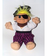 Russ Troll Soft Doll Pirate Costume Buccaneer Y... - $18.98