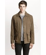NEW A X ARMANI EXCHANGE Men's Military Waxed Co... - $85.50