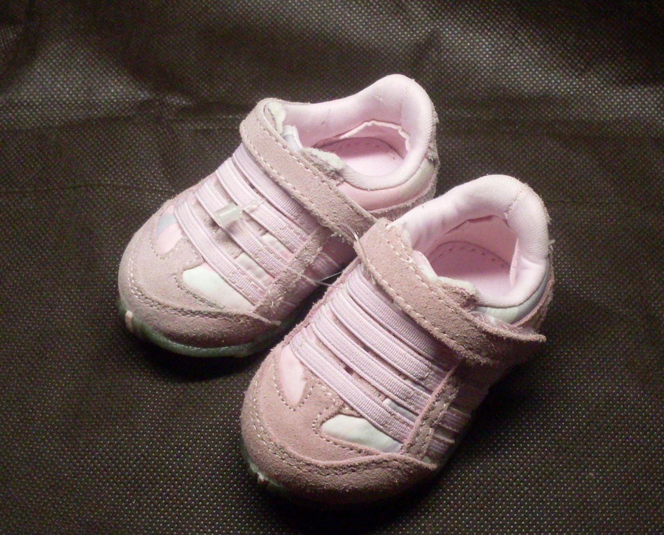 Infant Toddler Baby Girl Sneakers Pink Size 1 Shoes