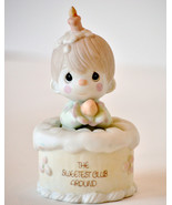 Precious Moments Figurine Birthday cake boy The... - $9.99