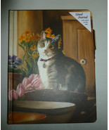 KAREN CRUDEN CAT & TULIPS SCRIPTURE DECORATIVE ... - $11.99