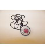 BDSM Emblem Sketch Necklace- choose round or sq... - $15.75